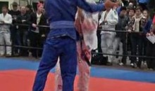 Illegal Knee Draws A BJJ B*tchslap (Video)