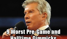 9 Worst Pre-Game and Halftime Gimmicks