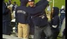BYU Fan Struts His Stuff In The Stands (Video)