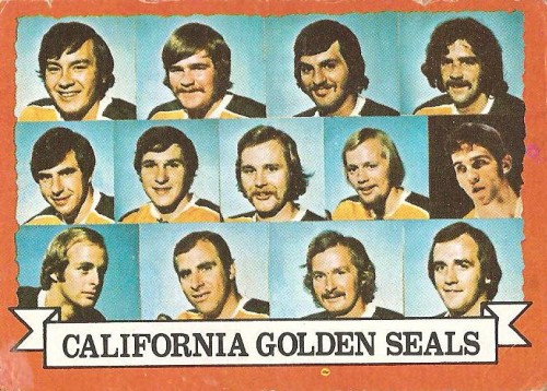 california golden seals hockey card