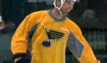 Chris Carpenter Skates With The St. Louis Blues (Video)