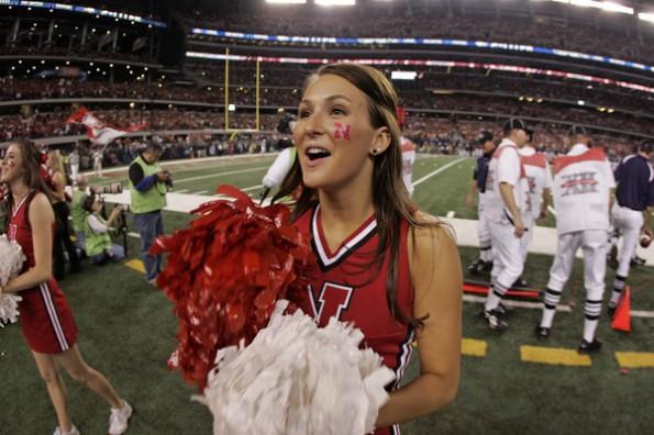 cornhusker cheerleader