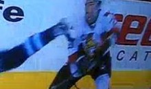 Nikita Filatov Takes A Skate To The Face (Video)