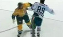 Frozen Fisticuffs Fight Of The Night — Gagner vs. Halischuk — 11/22/11
