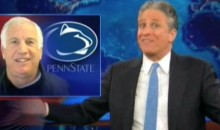 Jon Stewart Shares His Thoughts On Jerry Sandusky's Interview With Bob Costas (Video)