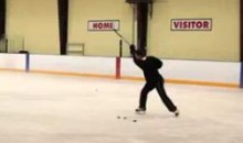 Jonathan Toews Demonstrates Some Insane Shooting Accuracy (Video)