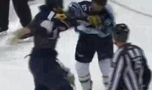 Frozen Fisticuffs Fight Of The Night — Glass vs. McCormick — 11/8/11