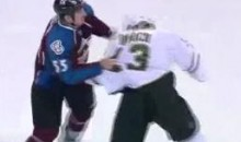 Frozen Fisticuffs Fight Of The Night — Barch vs. McLeod — 11/28/11