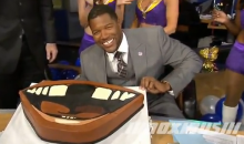 Michael Strahan's Birthday Celebration Included A Gap-Toothed Cake (Video)