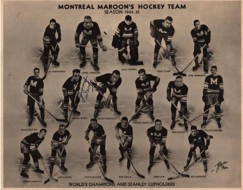 montreal maroons hockey