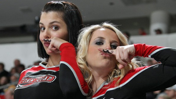 movember cheerleaders