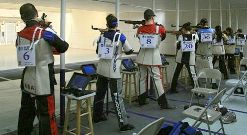 NCAA college rifle competition