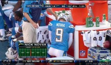 Picture Of The Day: Nick Novak Knows How To Relieve The Pressure