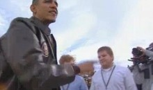 Let's Watch President Obama Stiff Several Handshakes At The 2011 Carrier Classic (Video)