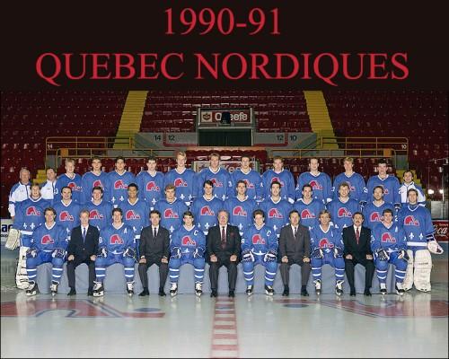 quebec nordiques 1990