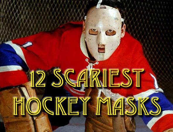 scariest hockey goalie masks