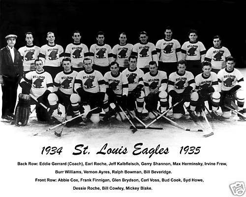 st. louis eagles hockey 1934-35