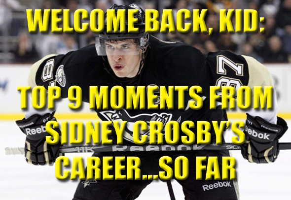top moments and highlights from sidney crosby's career