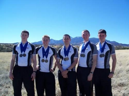 u.s. military academy orienteering team