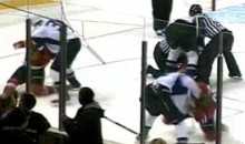 Line Brawl Erupts During WHL Game (Video)