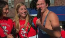 Drunk Wisconsin Fans + Microphone = 5 Minutes Of Hilarity (Video)