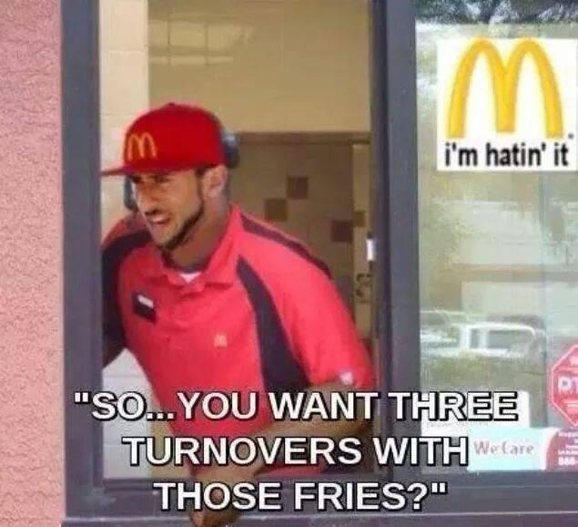Kaepernick's New Job…