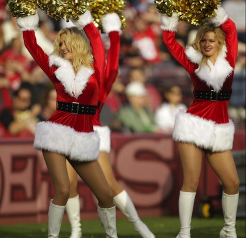 The 15 Best Christmas Themed Cheerleader Uniforms In The