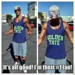 Kaepernick be like...