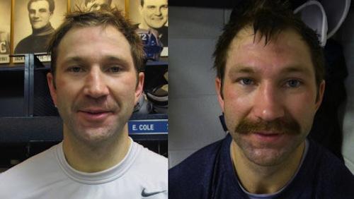 erik cole movember mustache