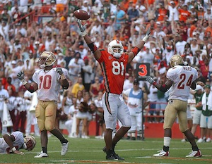 2001 miami hurricanes football
