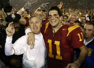 2004 rose bowl pete carroll matt leinart