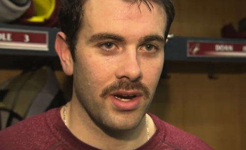 keith yandle movember mustache