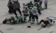9-Year-Olds Engage In Hockey Brawl In Kazakhstan (Video)