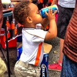 A Cleveland Browns Tailgate Featured A Beer-Drinkin' Toddler