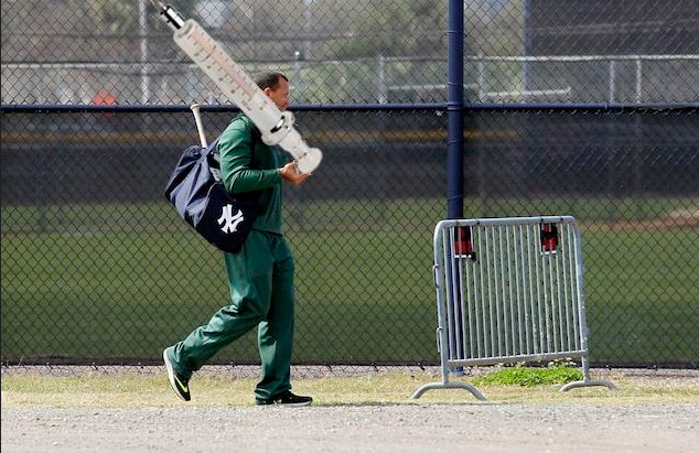 A-Rod At Spring Training