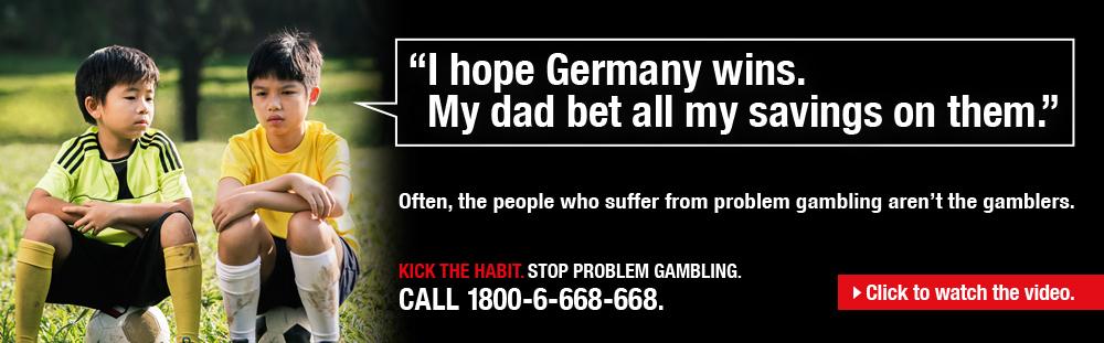 Anti-gambling Ad gone wrong