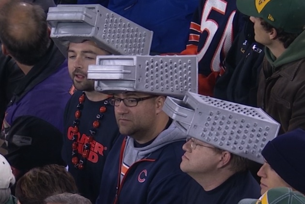 Bears Fans Troll Cheeseheads