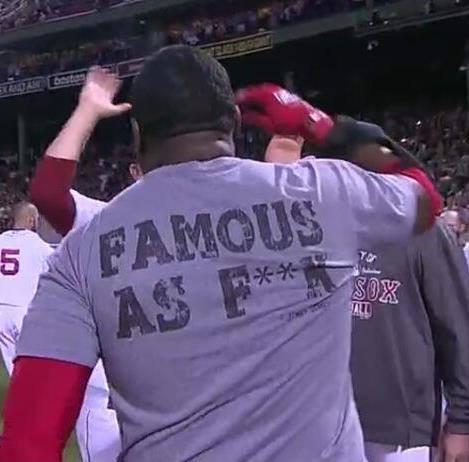 Nice Shirt Big Papi!