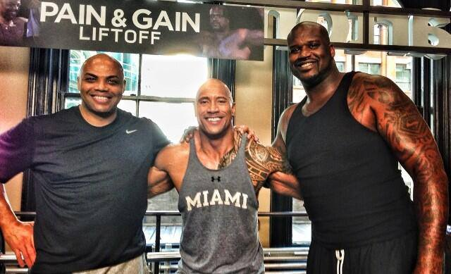 The Rock Looks Small
