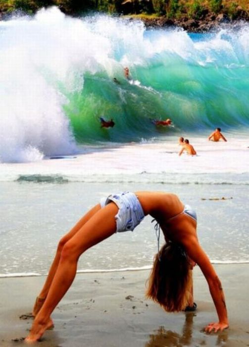 Check Out That Wave…