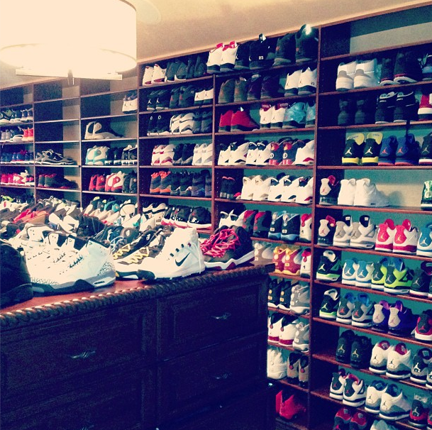 CP3's Shoe Closet…