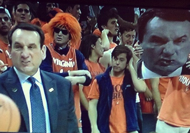 Coach K Perfect Timing