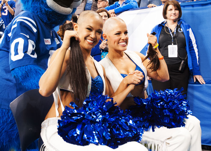 Colts Cheerleaders…
