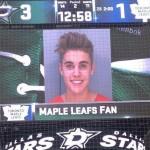 Dallas Stars Mock Toronto Maple Leafs by Posting Justin Bieber's Mugshot
