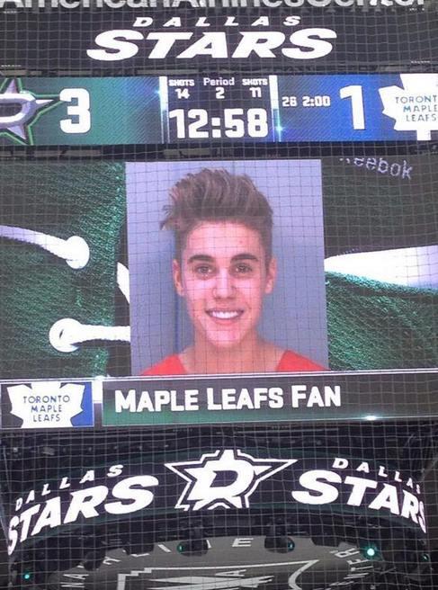 Dallas Stars Mock The Leafs