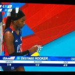 Destinee Hooker Team USA London 2012 Olympics