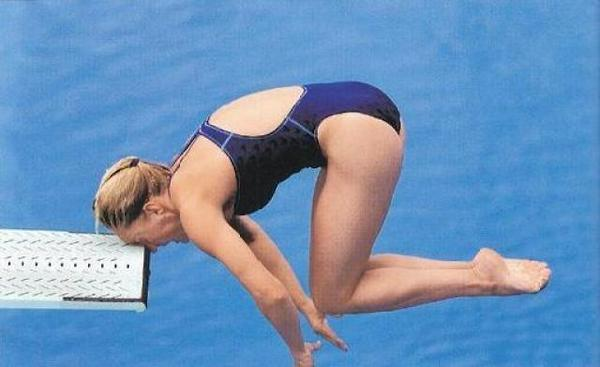 Diving Board Faceplant!