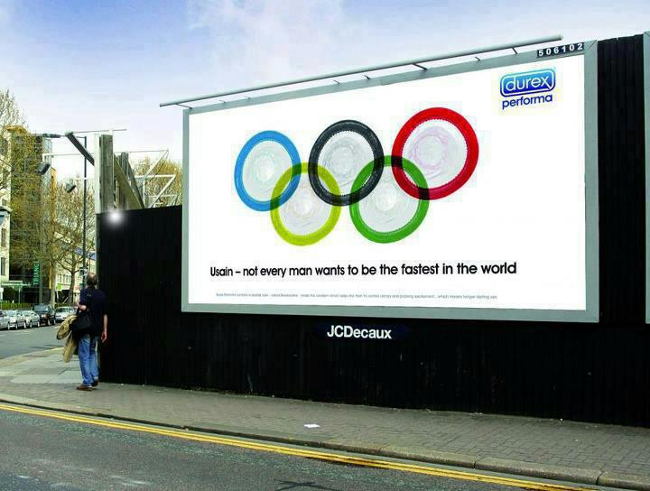 Funny Olympic Advertising…