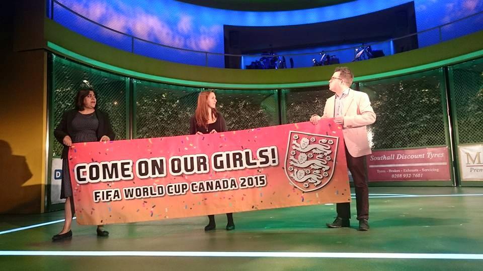 England's slogan… LOL!