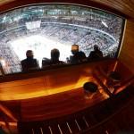 Finland sauna hockey arena